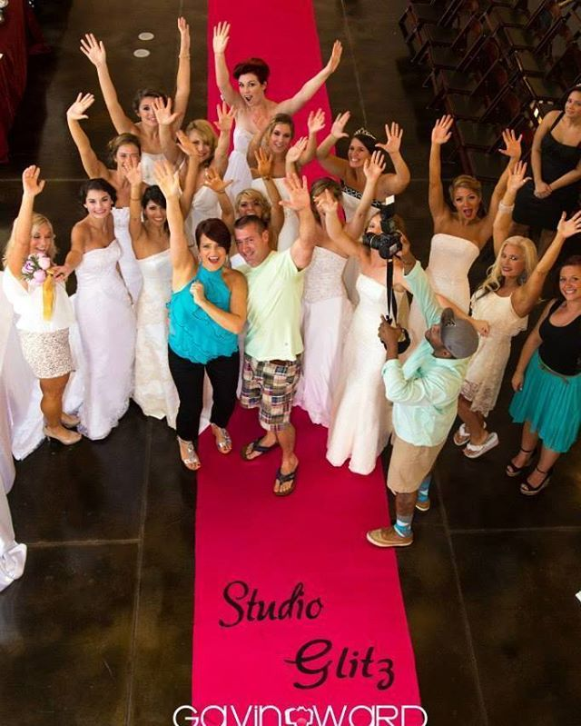 Bridal fashion show 💕_So fun_Runway runners provided by_IDo! Aisle Runners_Studio Glitz_Kimberly So