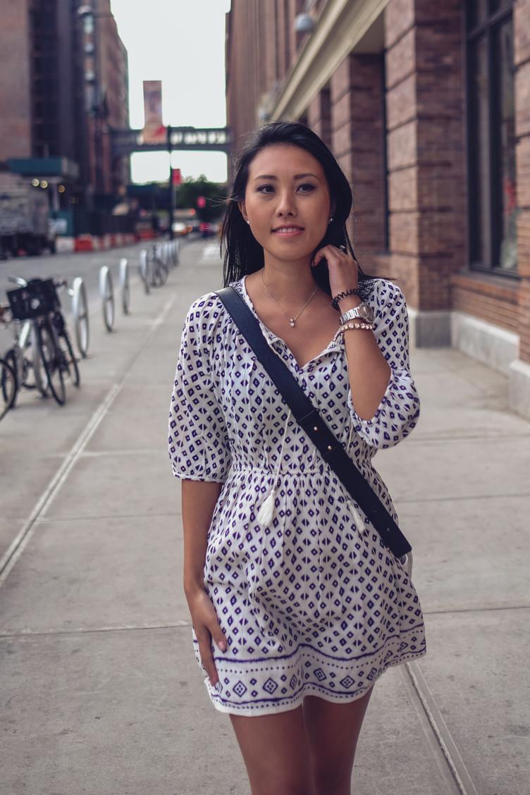 Retrato | Fernanda em NYC