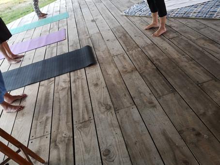 Retour sur la retraite de Yoga