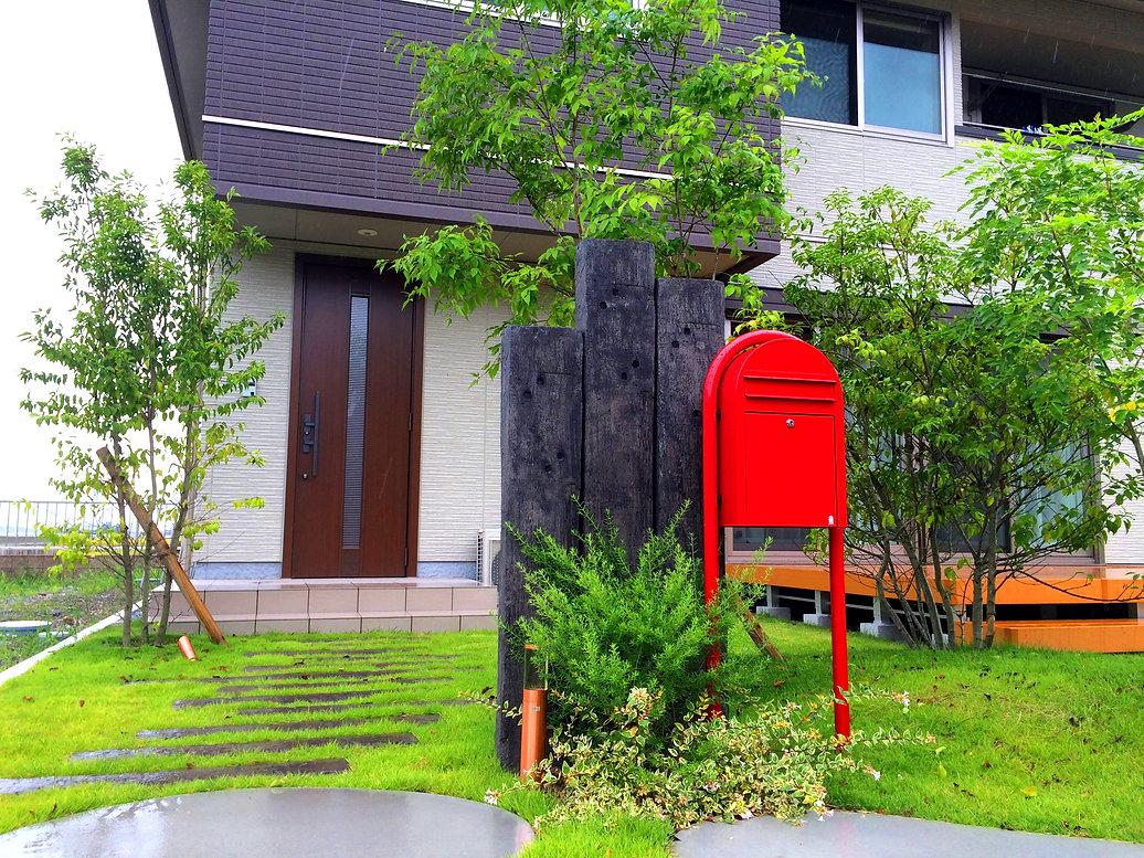 庭匠一心 庭 エクステリア 近江八幡市 彦根市 長浜市 植物 住宅 庭屋 カーポート 外構 滋賀の庭