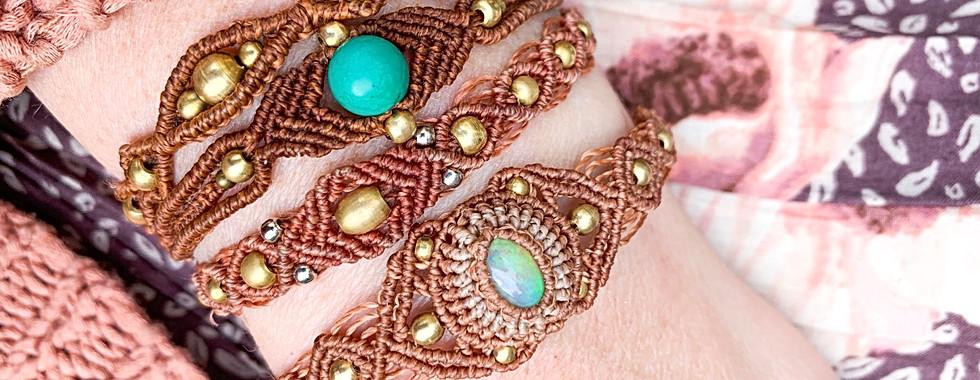 Fire Opal Bracelet