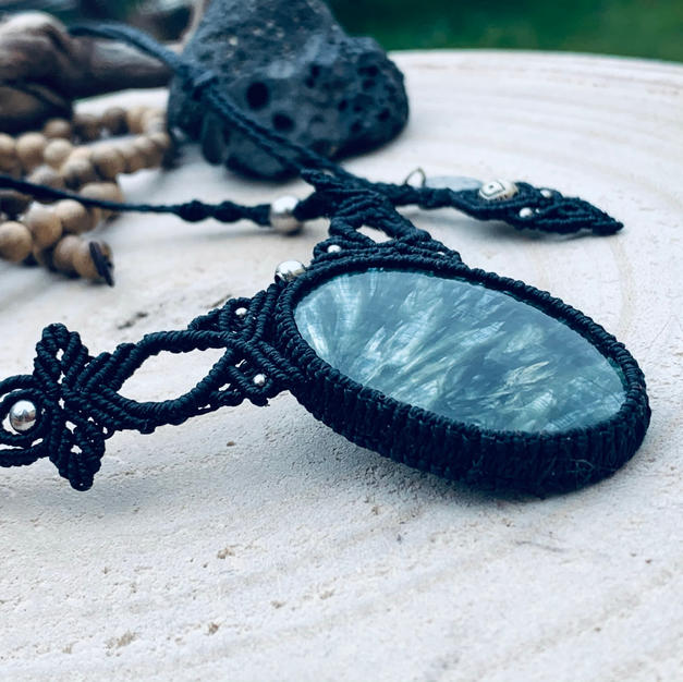 Soul Jewel with Seraphinite Dharmacrame