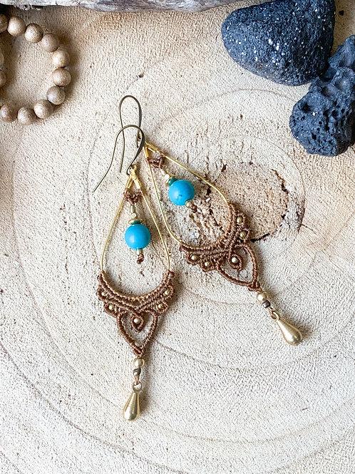 Nalu Micromacrame Design Earrings