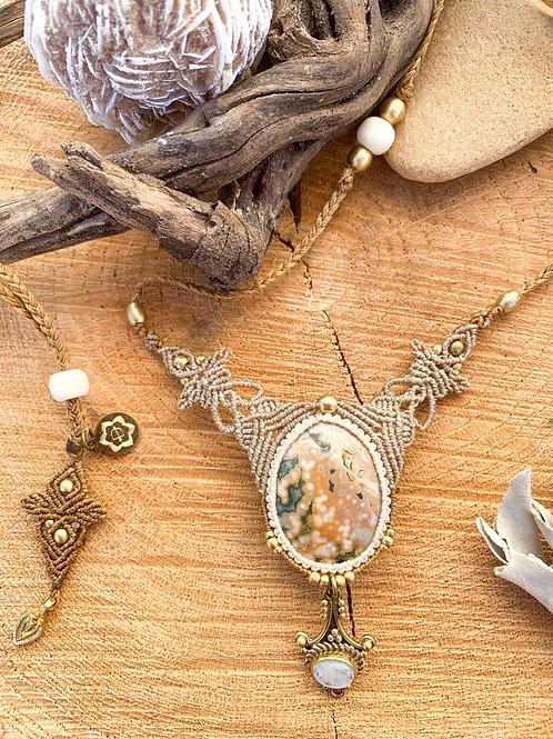 Aroha Ocean Jasper/Moonstone Empowering Jewel