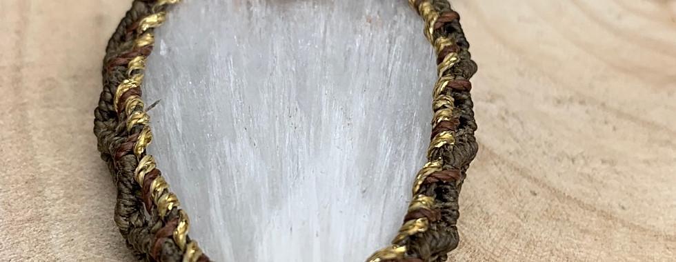 Scolecite Necklace