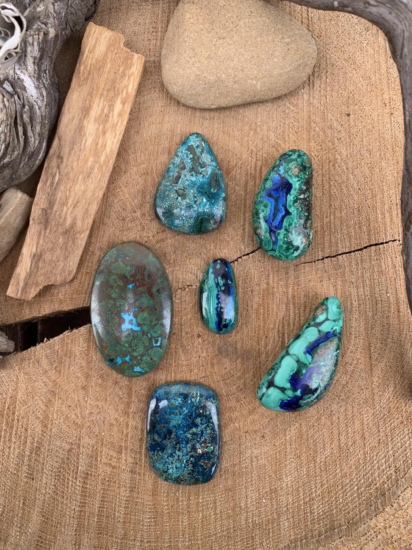 Thumbnail: Azurite/Malachite AAA 15x30mm