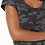 Thumbnail: Payton Camo Tee Dress Black Camo Dress