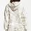 Thumbnail: Eva Spiral Tie Dye Hoodie Taupe