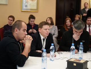 Сергей Кухаренко принял участие во встрече клуба Горчакова
