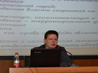 Директор Института народной дипломатии АТР прочитал лекцию в Хэйхэском университете
