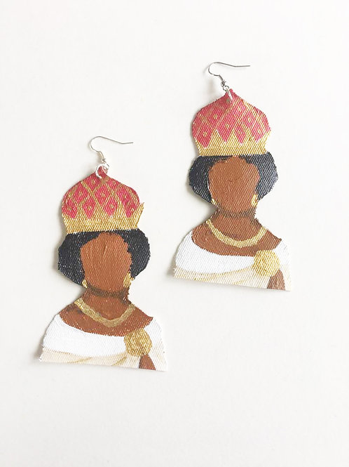 Queen Nzinga Handmade Earrings