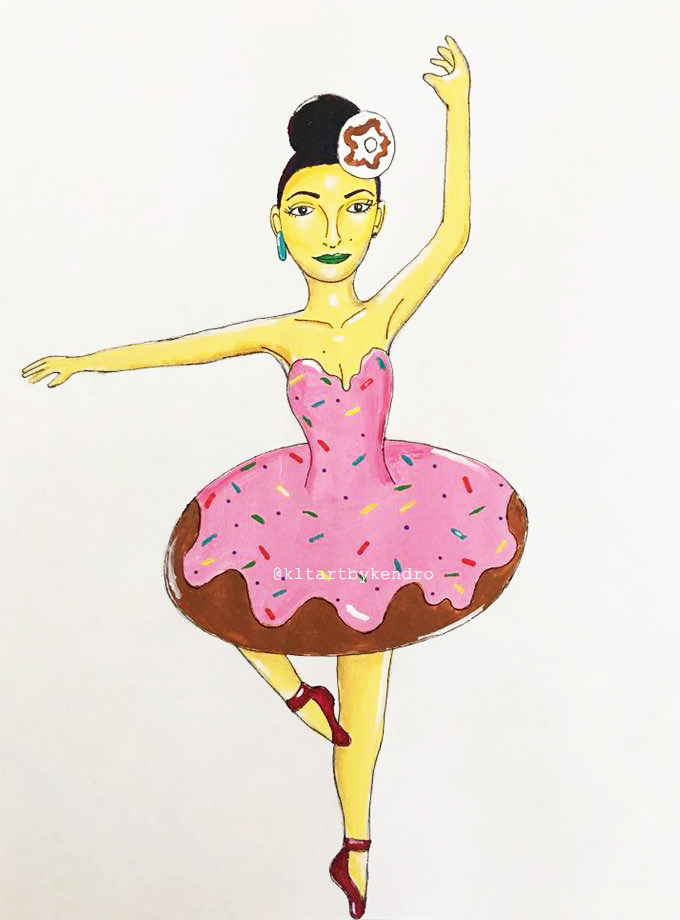 """""""Debra Donut Dancer"""""""