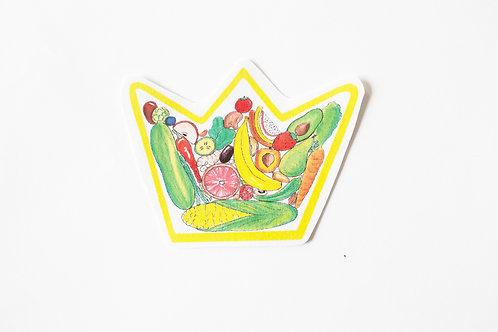 Plant Based Royalty Handmade Sticker