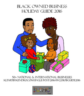 Black Owned Business Holiday Guide 2016 (UPDATE: 70+ Businesses!)