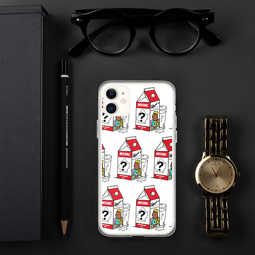 """""""Where Brooklyn At?!"""" Notorious B.I.G. Missing Milk Carton iPhone Case"""