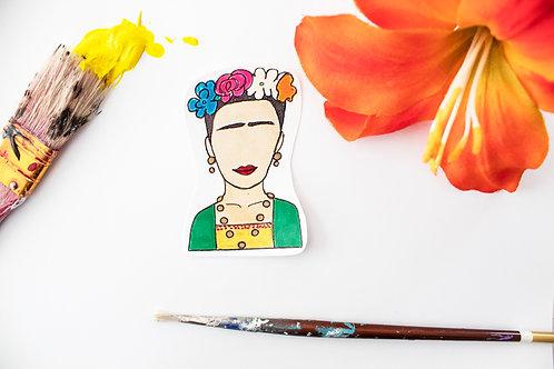 """""""Viva Frida"""" Handmade Sticker"""