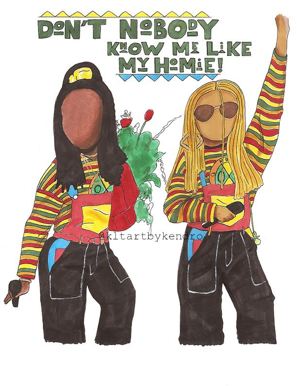 """Sheneneh & Key Lo Lo Homies"""