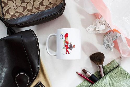 """Erykah Badu """"Bag Lady - Let It Go"""" Illustration 11oz or 15oz Mug"""