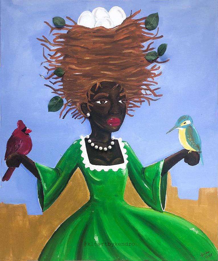 """Bird Lady"""