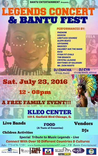 Legends Concert & Bantu Fest Recap
