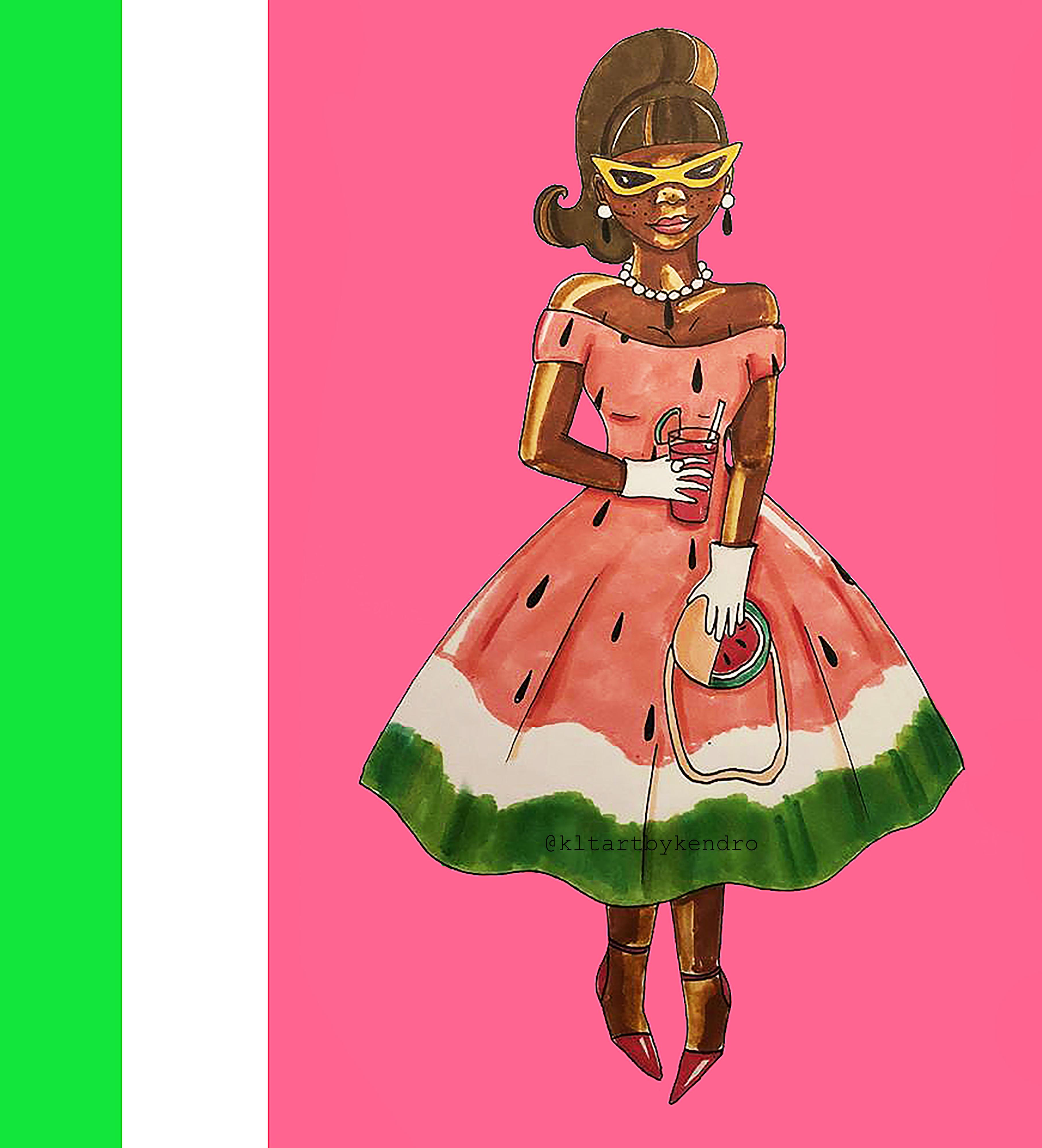 """Watermelon Girl"""