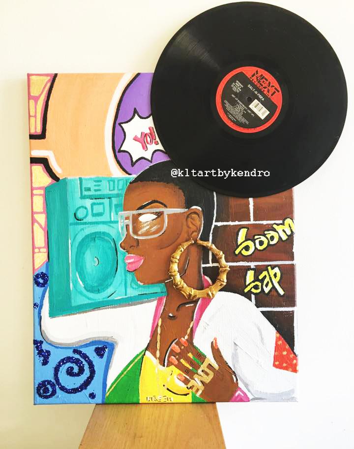 """""""The 80's Baby Hip-Hop Head"""""""