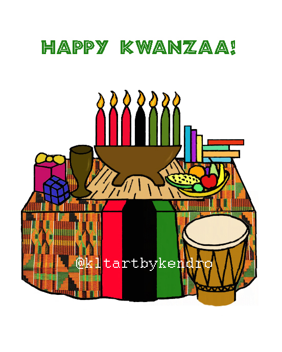 """Happy Kwanzaa"""