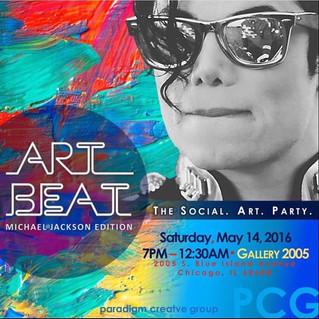 Art Beat Chicago Social Art Party 5/14/2016
