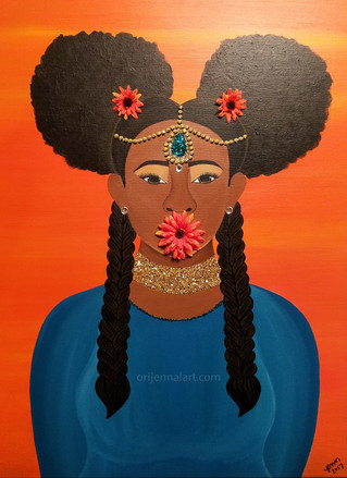 Artist Showcase: Jennifer of OriJENNal Art and Founder of the Black Art Experience (B.A.E.)