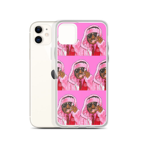 """Pinky from """"Next Friday"""" as Rapper Cam'ron In Pink Coat iPhone Case"""