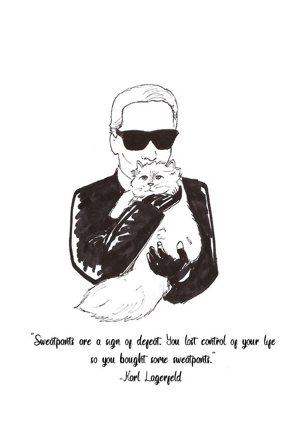 """Karl Lagerfeld"""