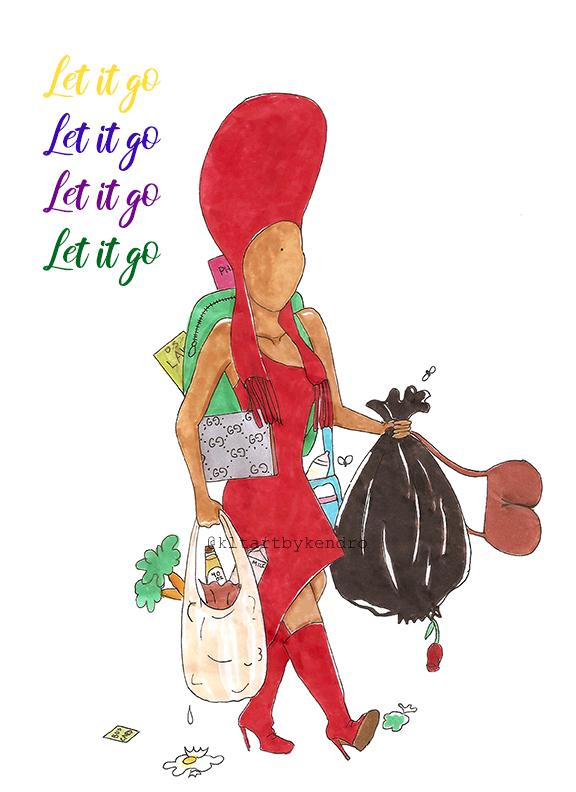 bag lady let it go edit