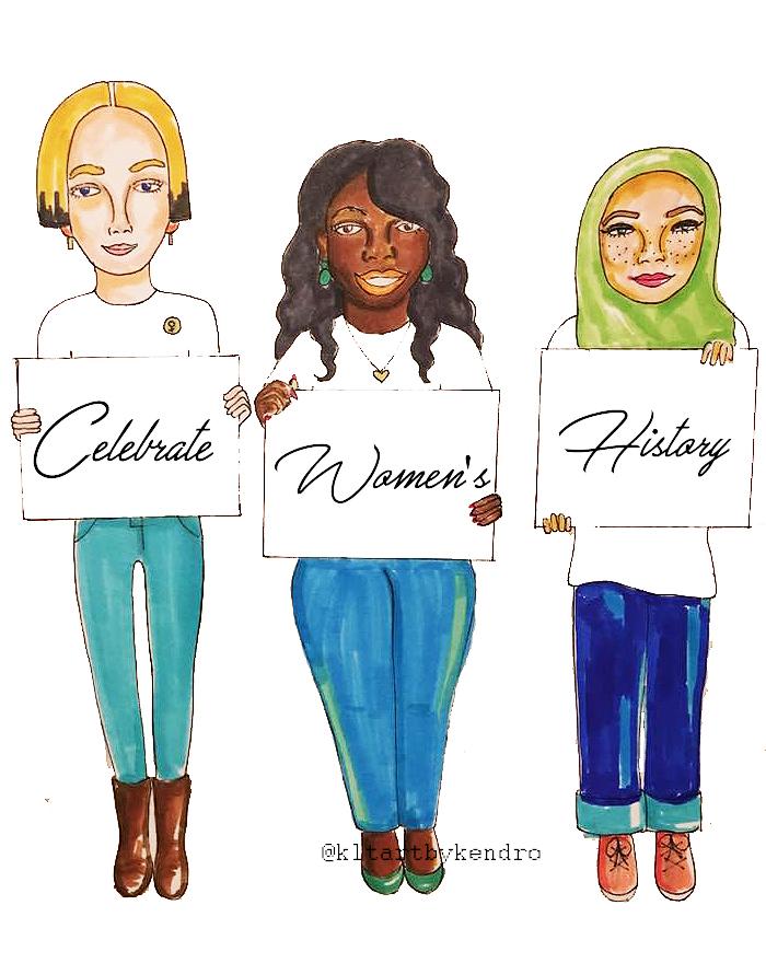 """Celebrate Women's History"""