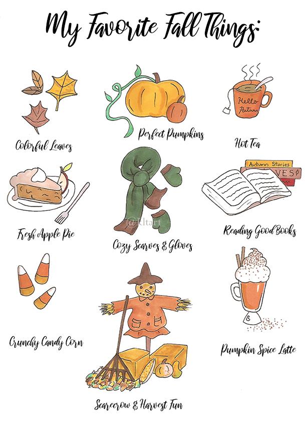"""My Favorite Fall Things"""