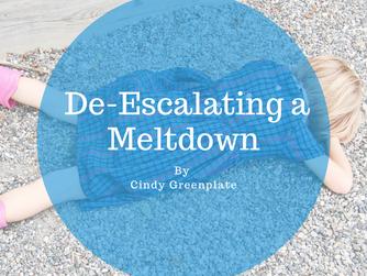 De-Escalating a Meltdown