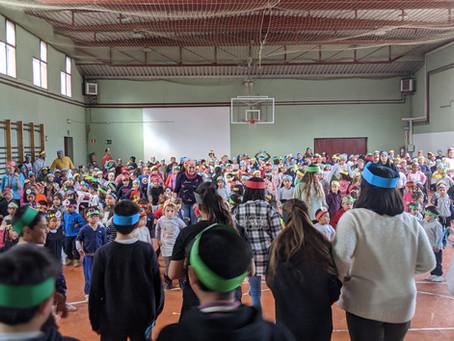 Día escolar de la no violencia y la paz 2020