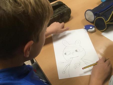 Creamos Superhéroes: actividad de animación a la lectura