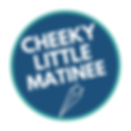 Cheeky Little Matinee Logo - blue with s