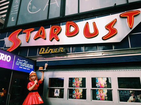 A Trip To Times Square and Ellen's Stardust Diner