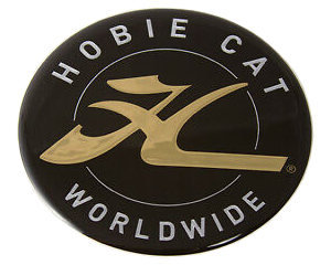 Hobie Kayak Bow Dome Logo Decal