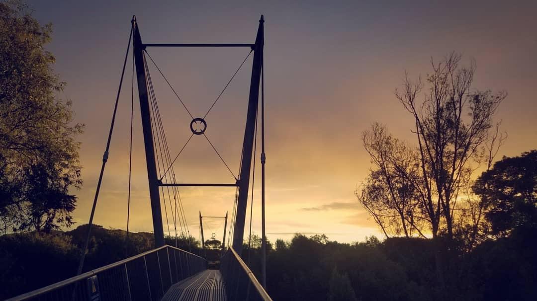 Waikanae in sunset