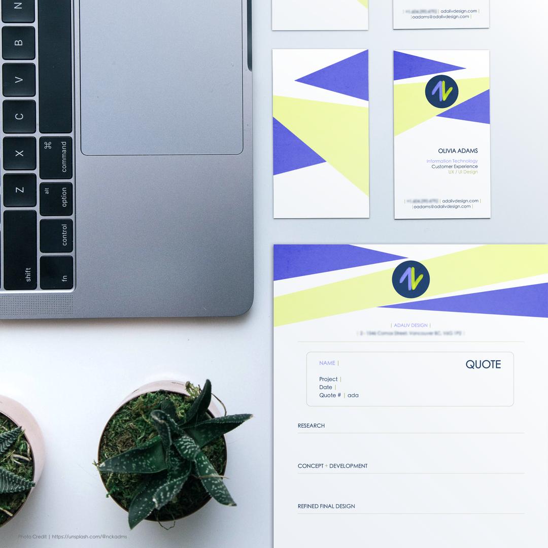 Adaliv Design Brand Identity