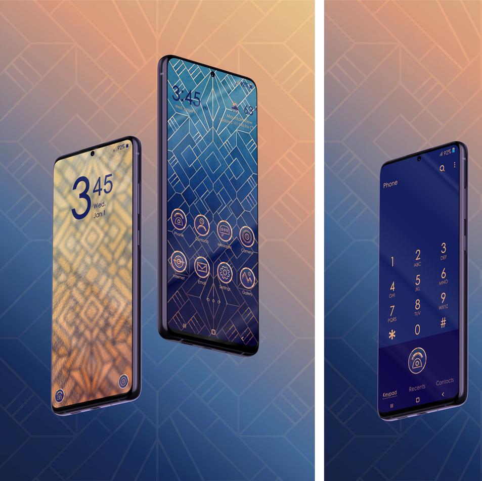 Samsung Theme - Art Deco