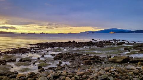English Bay - Sunset 02