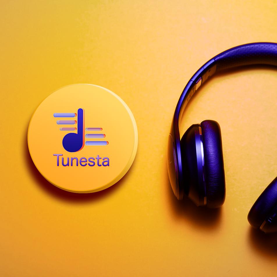Tunesta Logo - Brand Identity