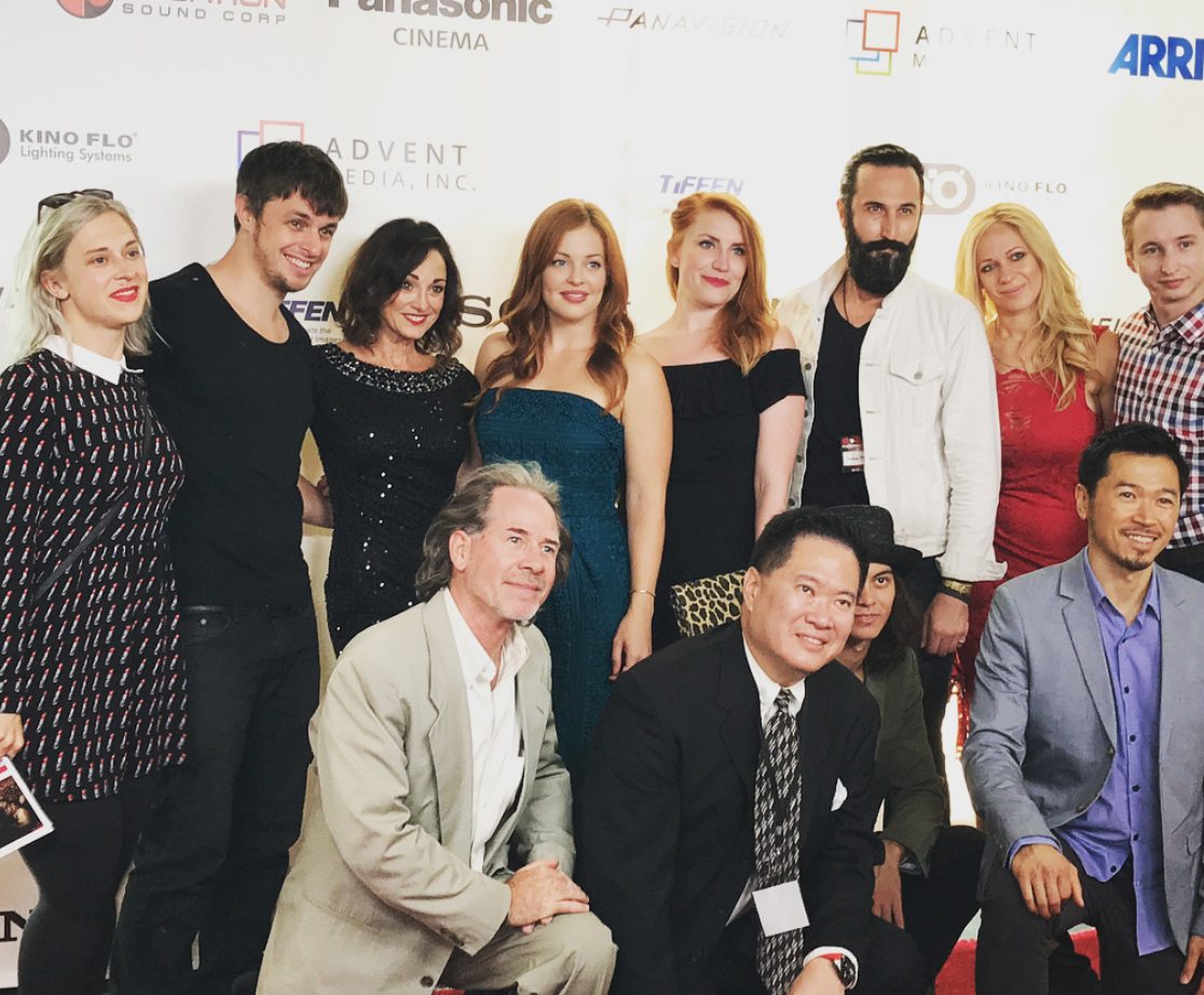 "Cast and Crew of ""Talentland' at 168 Film Festival"