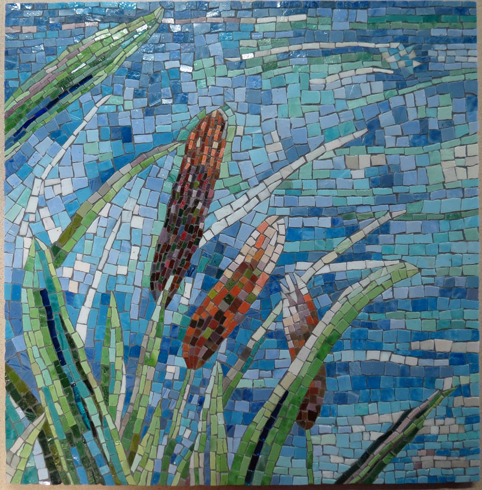 water's edge mosaic
