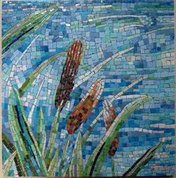 water's edge mosaic