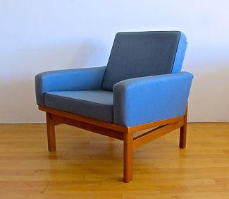 Beautiful Scandinavian armchair, glos.dk