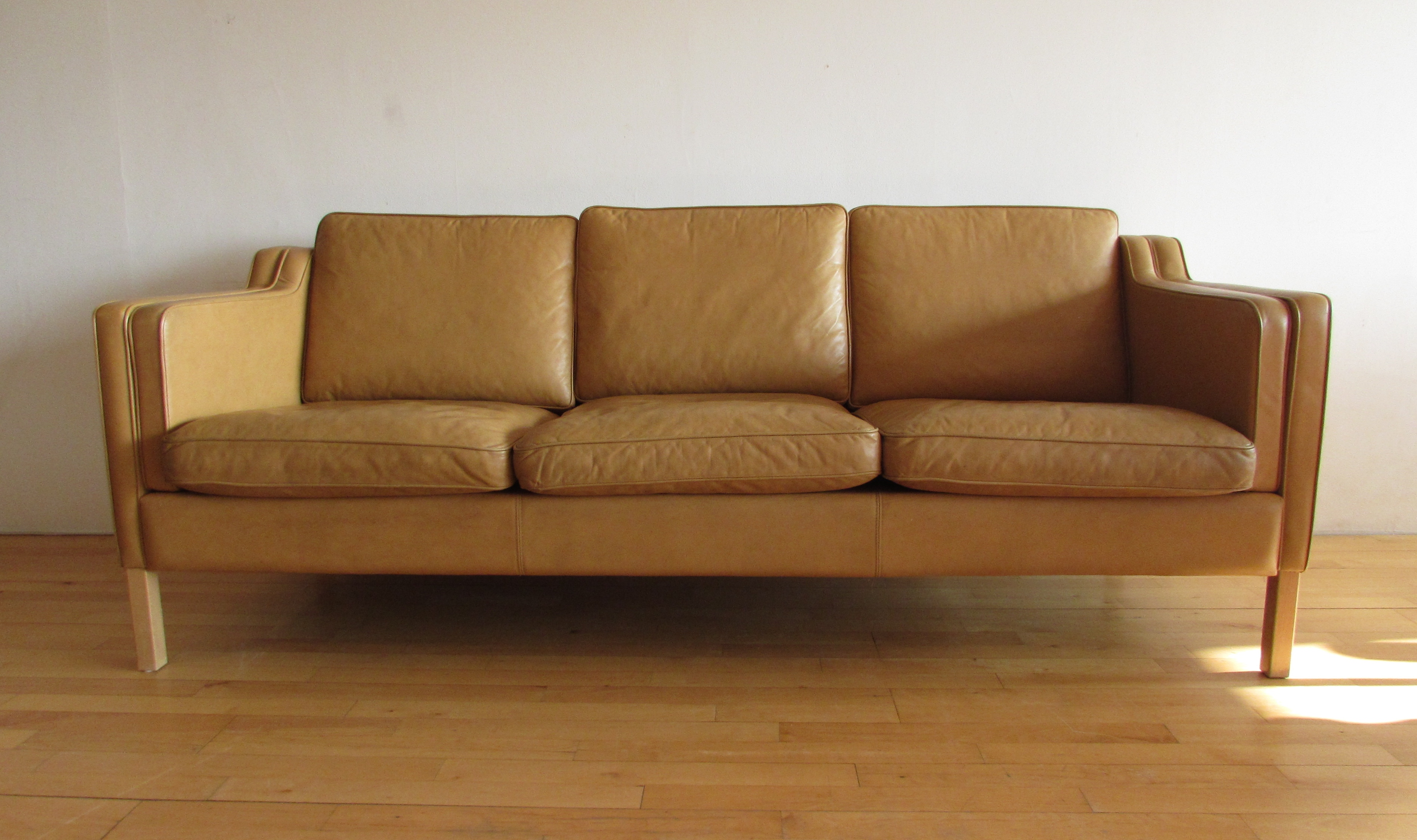 Leather Sofa - SOLD